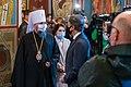 Secretary Blinken Tours St. Michael's Monastery with Metropolitan Epiphaniy (51170114257).jpg