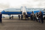 Secretary Kerry Disembarks From his Airplane at Christchurch International Airport in New Zealand for a Bilateral Visit (30238496293).jpg