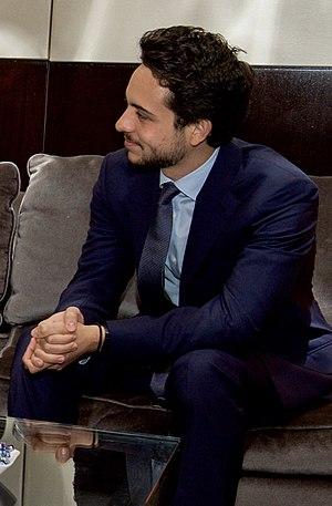 Hussein, Crown Prince of Jordan - Hussein in 2015