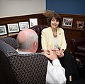 Secretary Perdue meets with U.S. Representative Cathy McMorris Rodgers 20170612-OSEC-LSC-0023 (34417658404).jpg