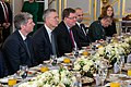 Secretary Pompeo Participates in a Working Breakfast with President Trump and Secretary General Stoltenberg (49163238327).jpg