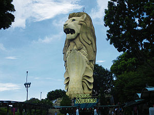 Merlion - The Merlion on Sentosa