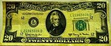 Pocahontas+20+dollar+bill
