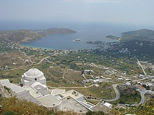 Serifos - View from Chora