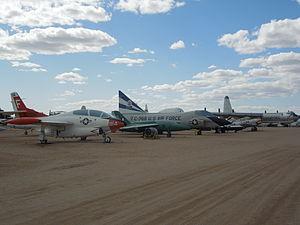 Several aircrafts at Pima Air & Space Museum.JPG