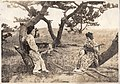 Shamisen Player outdoors (1914 by Elstner Hilton).jpg