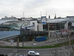 1991 Summer Universiade - Image: Sheffield, Ponds Forge (main entrance) geograph.org.uk 793529