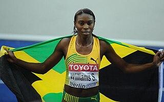 Shericka Williams Jamaican sprinter