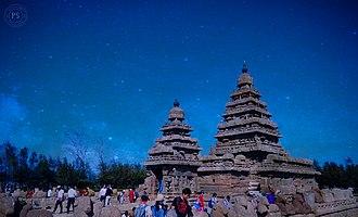 Shore Temple - Shore Temple night