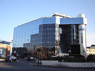 Inmarsat - Inmarsat Global HQ at 99 City Road, London. (January 2006)