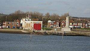 Shoreham Harbour Lifeboat Station - Image: Shoreham Lifeboat Station geograph.org.uk 756554