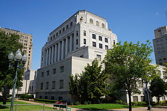 Caddo Parish, Louisiana - Image: Shreveport September 2015 113 (Caddo Parish Courthouse)