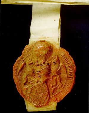 John III, Duke of Bavaria - Seal of John III