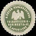 Siegelmarke 2. Unter-Elsässisches Feldartillerie-Regiment Nr. 87, I. Abteilung W0370671.jpg