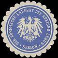Siegelmarke Der K. Landrat des Kreises Lebus (Seelow) W0379672.jpg