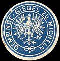Siegelmarke Gemeinde - Siegel zu Micheln W0217488.jpg
