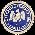 Siegelmarke II. Ersatz Bataillon Infanterie Regiment Nr. 160 - Troisdorf W0238248.jpg