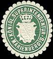 Siegelmarke Königliche Superintendentur - Marienberg W0216537.jpg