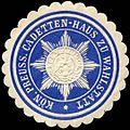 Siegelmarke K.Pr. Cadetten-Haus zu Wahlstatt W0283627.jpg