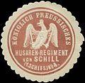 Siegelmarke K.Pr. Husaren-Regiment von Schill - 1. Schlesisches Nr. 4 W0348252.jpg