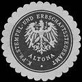 Siegelmarke K.Pr. Stempel- und Erbschaftssteueramt Altona W0343742.jpg