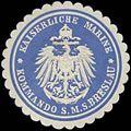 Siegelmarke K. Marine Kommando S.M.S. Breslau W0357671.jpg