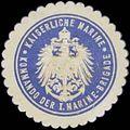 Siegelmarke K. Marine Kommando der I. Marine-Brigade W0357534.jpg