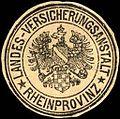 Siegelmarke Landes - Versicherungsanstalt - Rheinprovinz W0221511.jpg