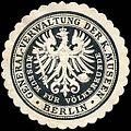 Siegelmarke Museum für Völkerkunde - General - Verwaltung der Königlichen Museen - Berlin W0227397.jpg