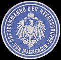 Siegelmarke Oberkommando der Heeresgruppe von Mackensen W0357337.jpg