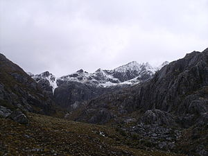 Cordillera de Mérida - Some of the cordillera at Sierra Nevada de Mérida.