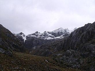 Cordillera de Mérida - Some of the cordillera at Sierra Nevada de Mérida.