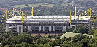 football stadium in the city of Dortmund, Germany