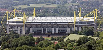 Borussia Dortmund - Signal Iduna Park is the biggest stadium in Germany