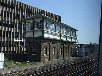 Eastbourne railway station - Eastbourne signal box
