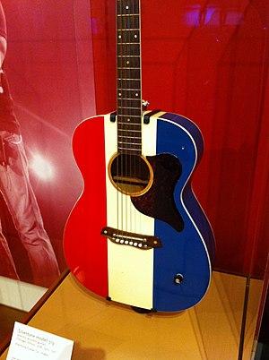 Harmony Company - Image: Silvertone model 319 (1971) by Harmony Company, MIM PHX