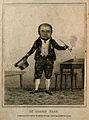 Simon Paap, a dwarf. Stipple engraving, 1815. Wellcome V0007241EL.jpg