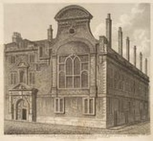 Sion College - Sion College, the North Front (1800)