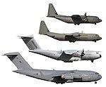 Size comparison C-17 A400M C-130J-30 C-130J.jpg
