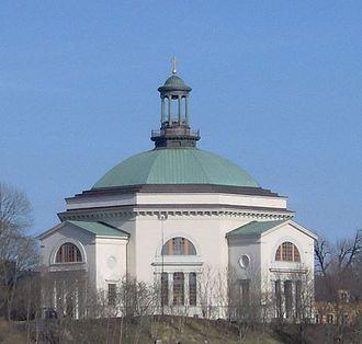 Fredrik Blom - Image: Skeppsholmskyrkan i Stockholm