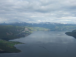 Skjerstadfjorden seen from the air.JPG