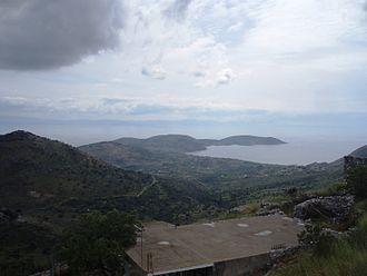 Drosopigi, Laconia - View of Mani Peninsula.