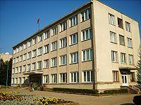 Skuodo rajono savivaldybės administracija.JPG