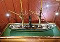 Slottsfjellsmuseet Museum Tønsberg Norway. Svend Foyn whaling pioneer Spes & Fides 1863 Whaler Steamer Harpoon cannon Ship model Hvalbåt Dampskip Harpunkanon Skipsmodell 2020-01-21 DSC02165.jpg