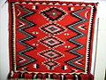 Small Navajo Rug- Red white and black in Ganado style.jpg