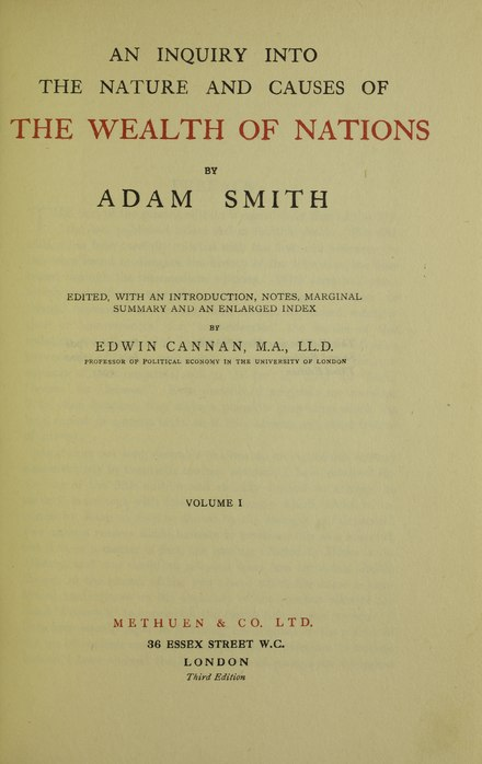 an introduction to the views of adam smith View full article + latest articles question of the month: be the first to learn of adam smith, esq invitation-only events, surveys, and reports first name.