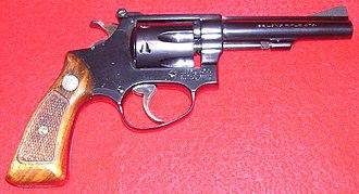 Animal euthanasia - Smith and Wesson Model 34-1 Kit Gun