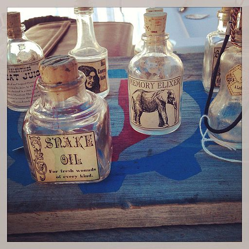 Snake oil or Memory Elixer anyone