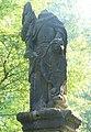 Socha svatého Václava u podstavce jiné sochy u silnice z Mezní Louky do Mezné (Q78787987) 02.jpg