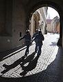 Soldiers under an arch in Prague..jpg